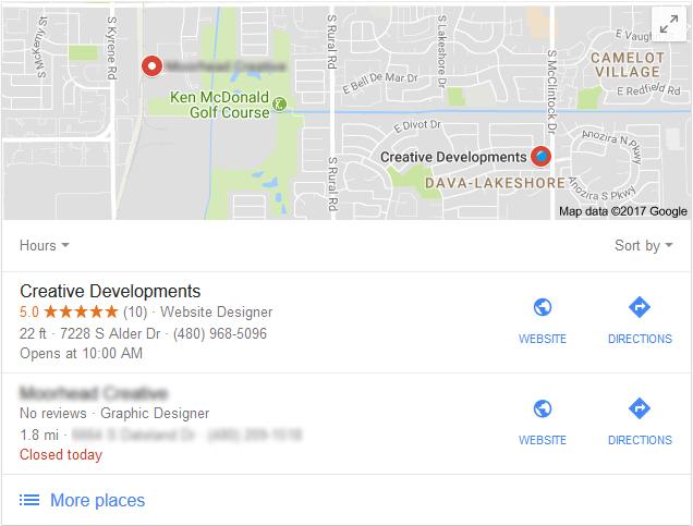 Creative Developments on Google Maps