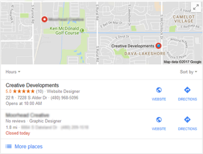 Creative Developments on Google Maps