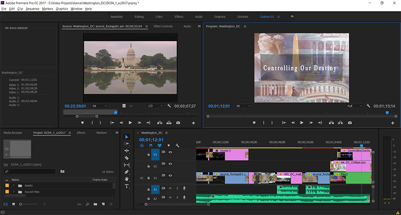 Commercial Video Editing in Tempe, Arizona at Creative Developments near Scottsdale and Phoenix, AZ