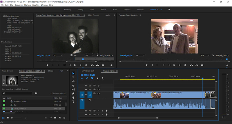 Home Video Editing in Tempe, Arizona at Creative Developments near Scottsdale and Phoenix, AZ